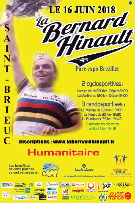 affiche Bernard Hinault 2018
