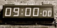 horloge 9h
