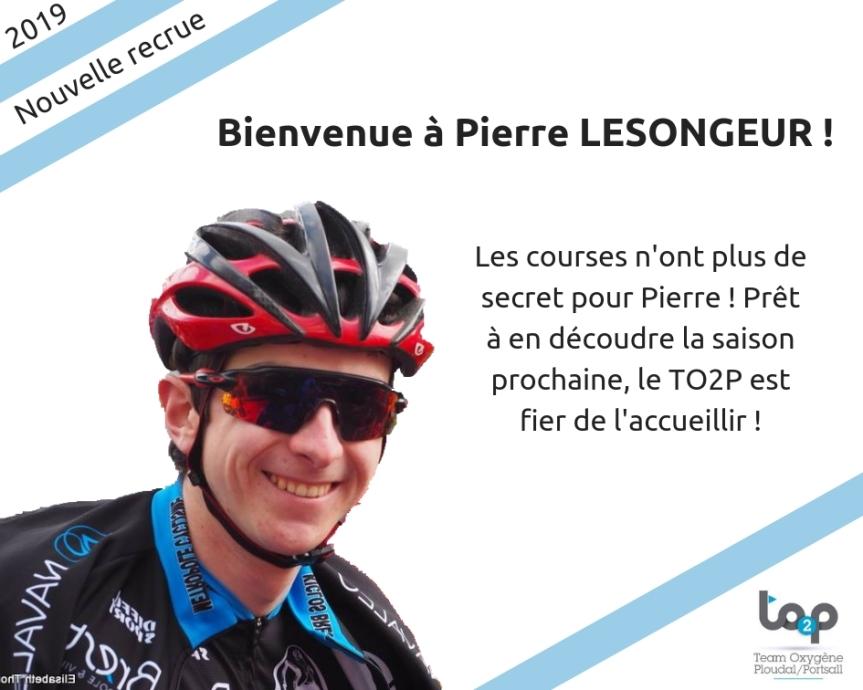 Bienvenue à Pierre LESONGEUR