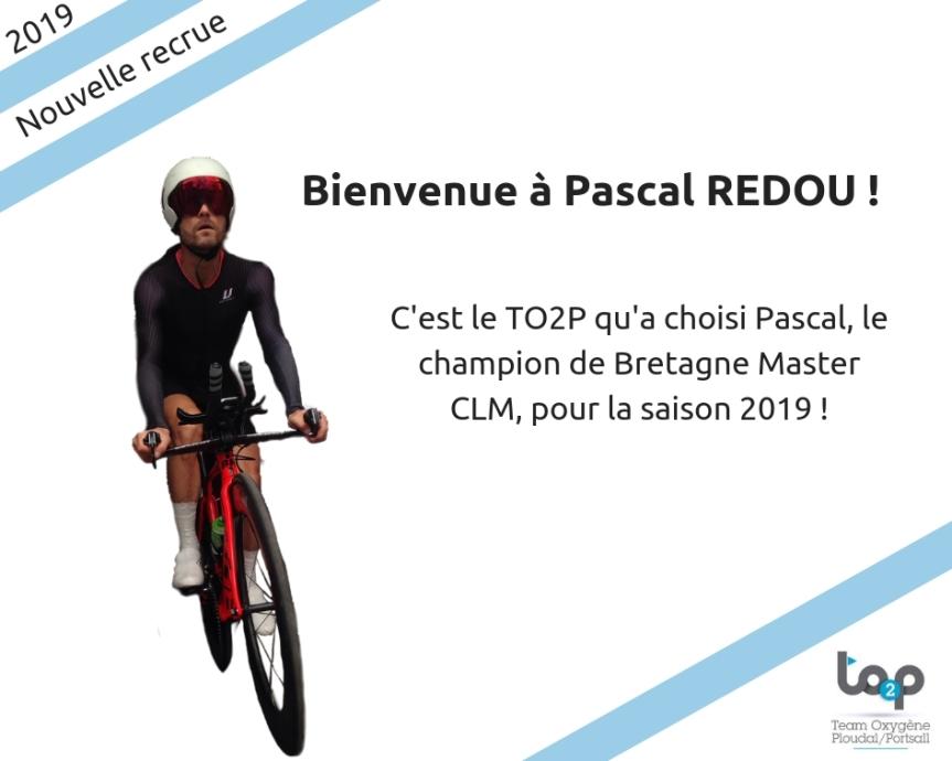 Bienvenue à Pascal REDOU