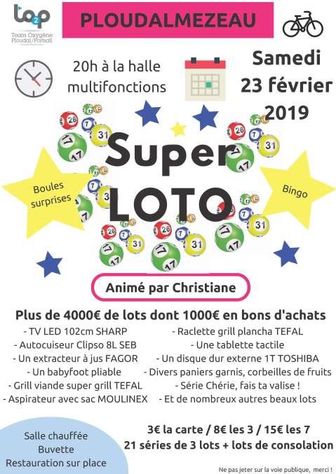 Affiche finale Loto TO2P 2019