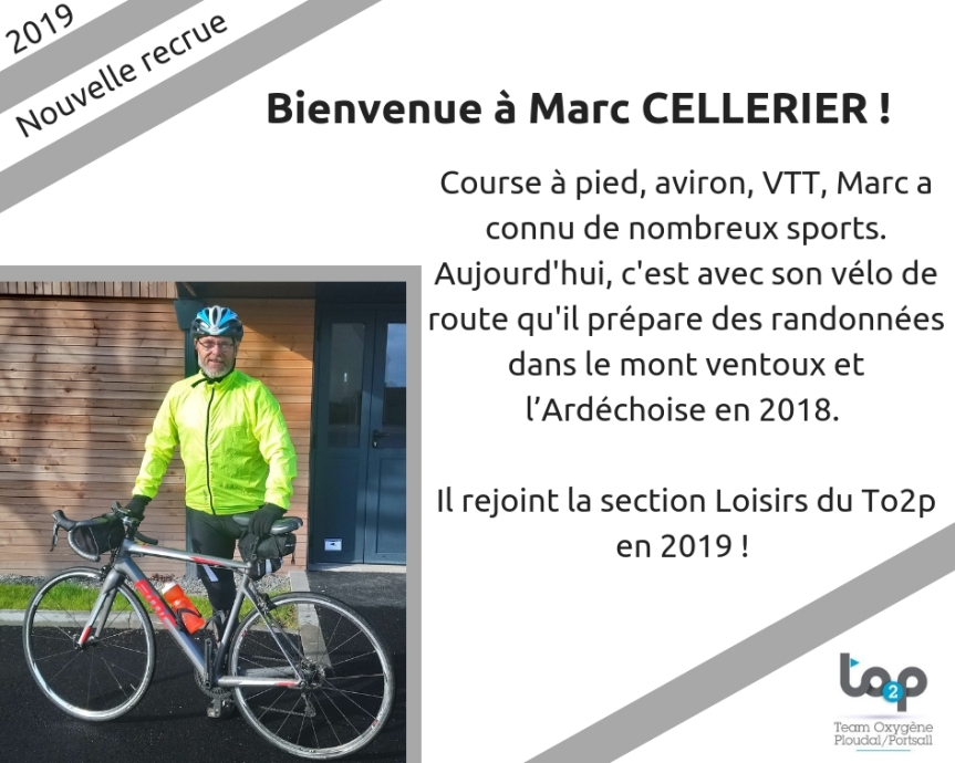 Bienvenue à Marc Cellerier 2