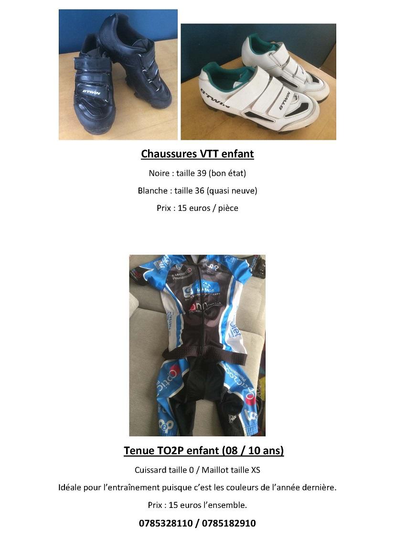 Chaussures VTT enfant