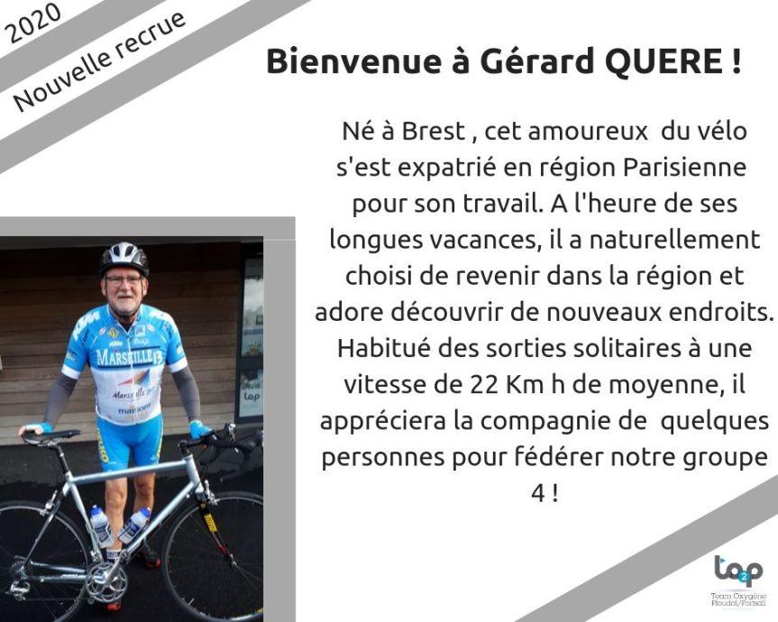 Bienvenue à Gérard