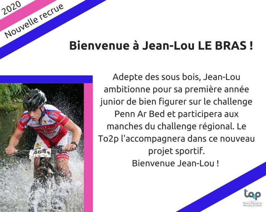 Bienvenue à Jean Lou Le Bras