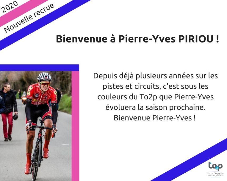 Bienvenue à Pierre Yves Piriou