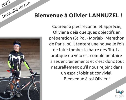 Bienvenue à Olivier